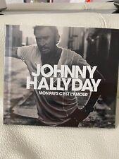 "CD-Livre Johnny Hallyday ""Mon Pays C'est L'Amour"" NEUF"