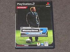 Winning Eleven 7 International PS2 NTSC-J Complete Japanese Import Japan Soccer