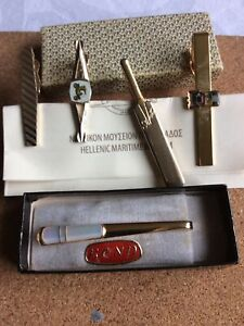 Old Tie Clips