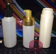 125 ml (4.16 OZ) GOLD Foamer PUMP SET (Natural Bottle) - 12 SETS