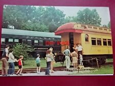 POSTCARD USA LOCOMOTIVE - KENTUCKY RAILWAY MUSEUM COMBINE #665 & LOCO GENERAL