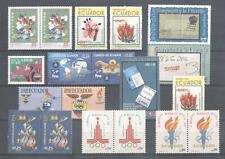 (864155) Olympics, Flowers, Small lot, Miscellaneous, Ecuador