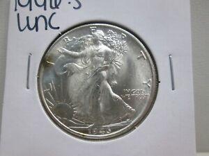 1946-S US WALKING LIBERTY HALF DOLLAR- UNC