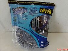 Plastiflex Deluxe Central Vacuum 35 foot Vacsoc Quilted, Washable with Zipper