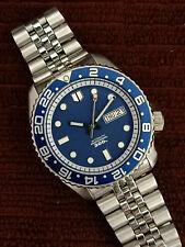 Seiko Diver impresionante azul 300M Mod 7S26-0020 SKX007 Reloj Automático de Hombre 030880