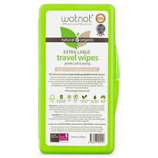 Wotnot Biodegradable Natural Baby Wipes With Travel Case (20) Eco Environmentall
