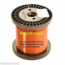 0.50mm ENAMELLED COPPER WIRE - COIL WIRE, TATTOO COIL MAGNET WIRE - 1kg