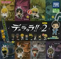 BANDAI ensemble Stars figure key chains All 5 set Gashapon mascot toys