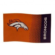 Denver Broncos NFL American Football Team 5ft x 3ft Flag FD Free UK P&P