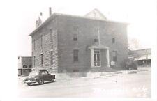 D74/ Marshall Arkansas AR RPPC Postcard Searcy County Court House