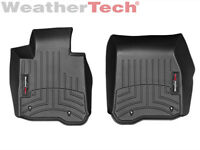 WeatherTech Floor Mats FloorLiner for BMW 4-Series RWD / M4 - 1st Row - Black