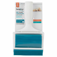 Beldray® LA072597EU Pet Plus+ Handheld TPR Gel Lint Roller with Squeegee