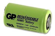 Batería Ni-mh + Etiquetas Sub-C 1.2 V 2200 mAh Baterías Recargable-CM85786