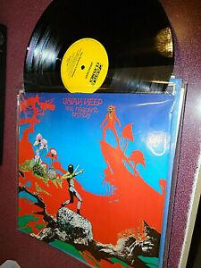 URIAH HEEP THE MAGICIANS BIRTHDAY LP CASTLE CLASSICS GERMANY IMPORT VG+/VG+