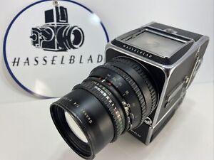Hasselblad Black 500EL/M Body & Sonnar 150mm F4 For Parts Or Repair & Batteries