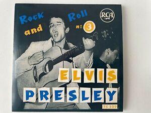 """ELVIS PRESLEY CD """" 50 ANS DU ROCK N ROLL """"       Promo. n° 3"""