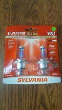 New listing Sylvania Silverstar Ultra 9003 (H4) High Performance Headlight 2Bulbs Brand New!