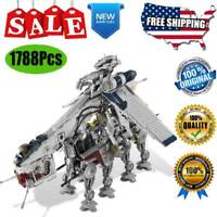 Building Blocks Sets Star Wars 05053 Republic Dropship W/ AT-OT Walker Kids Toys