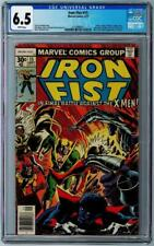 IRON FIST #15 - CGC Graded 6.5 - White Pages - John Byrne - X-Men