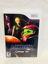 Nintendo Wii Metroid Other M Complete Video Game Mint Condition Case Manual CD