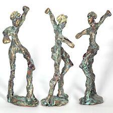 "Kunst Skulptur ""Triumph"" 20cm Unikat Andreas Loeschner-Gornau"