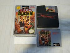 Bad Dudes (Nintendo NES) Complete CiB - Cleaned & Tested