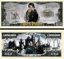 Harry Potter Million Dollar Bill Collectible Fake Play Funny Money Novelty Note
