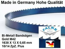 Sierra de cinta para sierra de cinta-sierra de metal 1638 mm x 13 x 0,65 mm 10/14