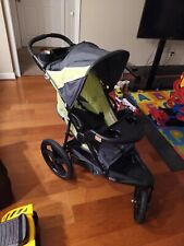 New ListingBaby Trend Xcel Jogger Traveling Stroller with Storage, Lemon Zest - Jg95A16A