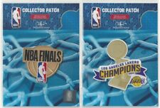 2020 Los Angeles Lakers NBA Champions 2 Patch Combo Finals + Champs Trophy
