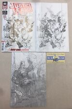 Justice League #1 Ratio Variant Set Of 3 1:100, 1:250, 1:500 Jim Lee Jim Cheung
