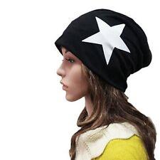 US Unisex Women's Men Knit Ski Crochet Slouch Baggy Hip-hop Star Hat Cap Beanie