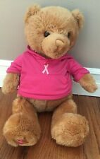"Gund Brown Teddy Bear Hoodie Soft Plush Toy Gift Stuffed Animal Size 20"" -Euc"