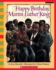 HAPPY BIRTHDAY, MARTIN LUTHER KING  (Brand New Paperback) Jean Marzollo