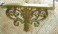 "Regency Ornate Gold Shelf Vintage Burwood 2148A  10""W x 5.5""Ht x 4""D Near Mint"