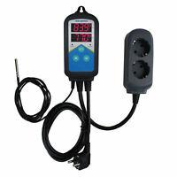 Inkbird ITC-306 Termostato digitale Termoregolatore Doppia Semina Timer aquarium