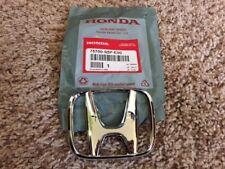 "New OEM Honda 2001-2003 Civic 2dr Coupe EX LX DX HX Front ""H"" Emblem Badge S5P"