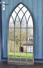 Large Gothic Mirror Rustic Design Wall Arch Outdoor Garden Window Antique Church