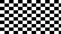 Checkerboard Black and White Background Edible A4 ICING Sheet
