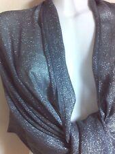 Nueva bufanda bufandas chales de plata brillo Estola Chal Pashmina Envolvente Fiesta encubrir