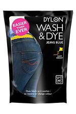 400g JEANS BLUE DYLON WASH & DYE FABRIC CLOTHES DYE