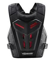EVS REVOLUTION REVO 4 BLACK MX MOTOCROSS YOUTH KIDS BODY ARMOUR ROOST GUARD