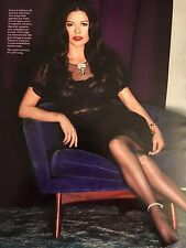 Catherine Zeta-Jones 14pg + cover INSTYLE magazine feature, clipping