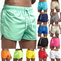 Men's Spring and Summer Splicing Swimming Trousers and Beach Surfing Shorts