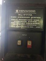 Kenwood Trio KL- 777A 4 Way 6 Speaker System