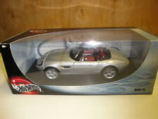 BMW Z8 SILVER  1:18 HOT WHEELS    NEW WITH BOX RARE