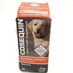 Cosequin Maximum Strength Joint Supplement Plus MSM with Glucosamine Chondroitin