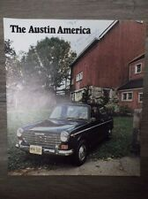 Original Vintage 1969 The Austin America British Leyland Motors Inc.