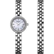 Rotary Ladies Watch Gift Set LB00017-BRS-07S