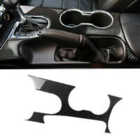 Car Gear Shift Panel Decor Cover Trim Fit For Ford Mustang Interior Accessories